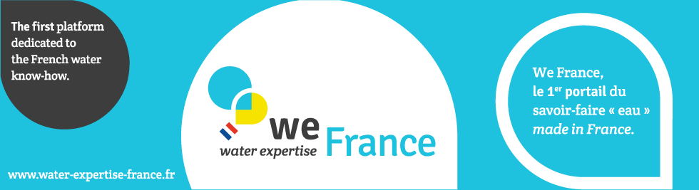WeFrance, the first platform of French water stakeholders know how