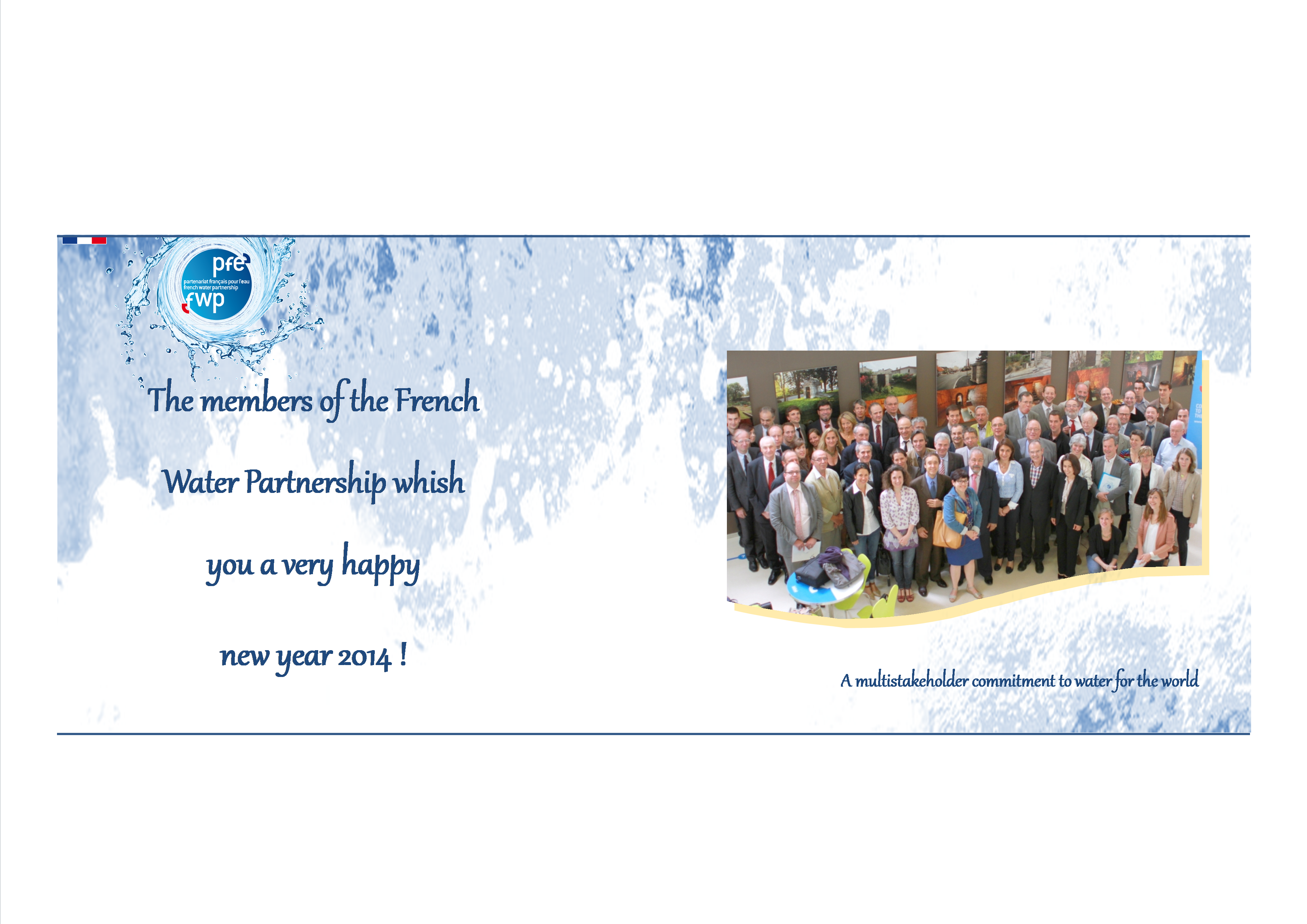 French Water Partnership » Best wishes for 2014 from the French ...
