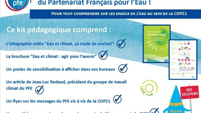 Kit pédagogique eau et climat PFE