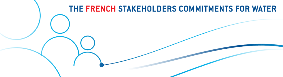 Commitments of French water stakeholders
